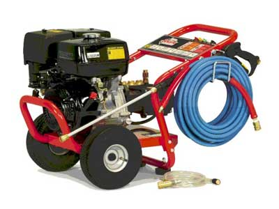 Pressure washer rentals in the Plattsburgh and Saranac Lake New York areas
