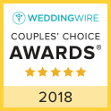 WeddingWire Rated 2018