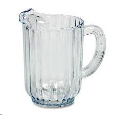 Where to find Water Pitcher, Plastic 60 oz. in Plattsburgh
