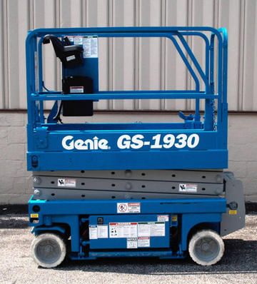 Where to find LIFT, SCISSOR GENIE 19  INDOOR in Plattsburgh