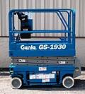 Where to rent LIFT, SCISSOR GENIE 19  INDOOR in Plattsburgh NY