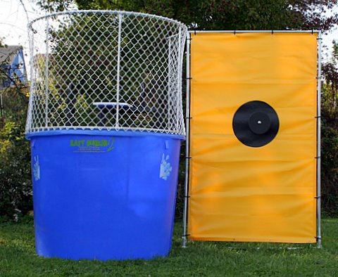 Where to find DUNK TANK, TRAILER in Plattsburgh