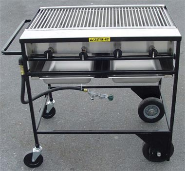Where to find GRILL, 30  STAINLESS PORTABLE LPG in Plattsburgh