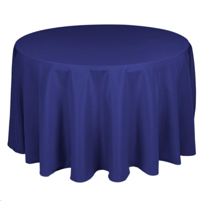 Where to find LINEN, 120  ROUND, ROYAL BLUE in Plattsburgh