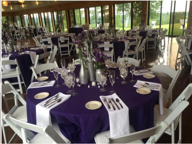 Where to find LINEN, 108  ROUND, EGGPLANT PURPLE in Plattsburgh