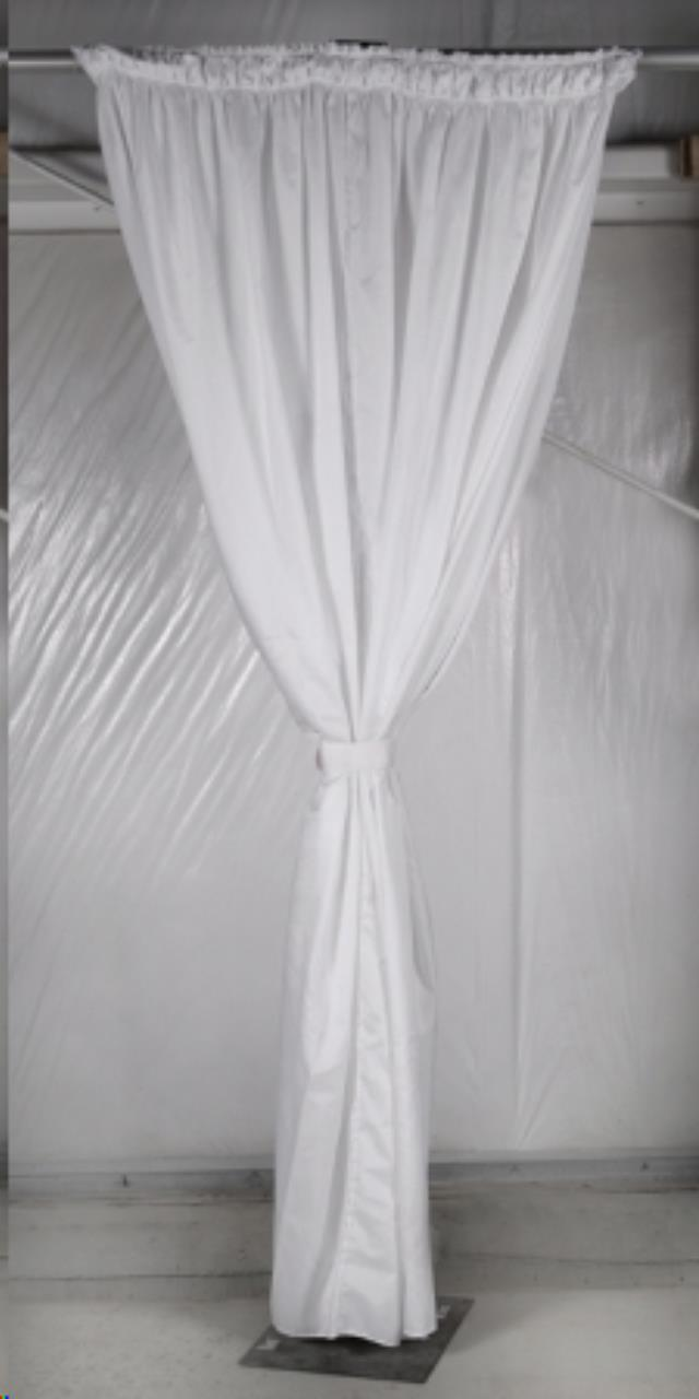 Where to find Tent, Pole Drape, 10  White in Plattsburgh