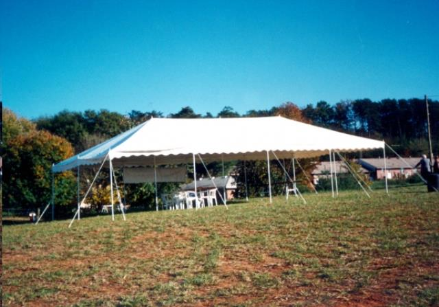Where to find Tent, 20x40 Canopy, Aztec, White in Plattsburgh