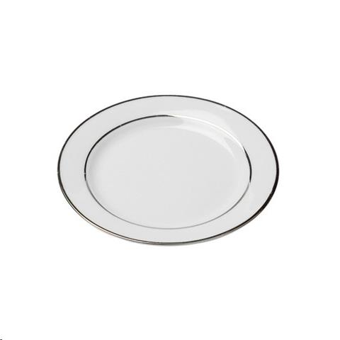 Where to find Dish, Silver Rim B B Plate 6   20 in Plattsburgh