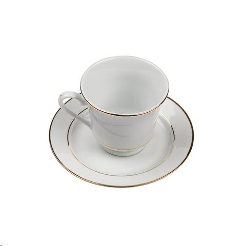 Where to find Dish, Gold Rim Coffee Saucer  20 in Plattsburgh