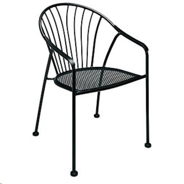 Where to find Chair, Barrel Back Wire in Plattsburgh