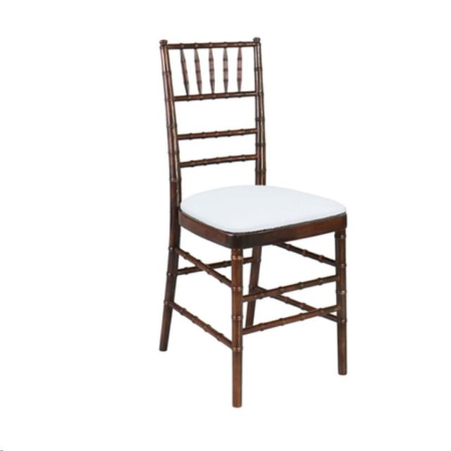 Where to find Chair, Chiavari Fruitwood w  Ivory Cushi in Plattsburgh