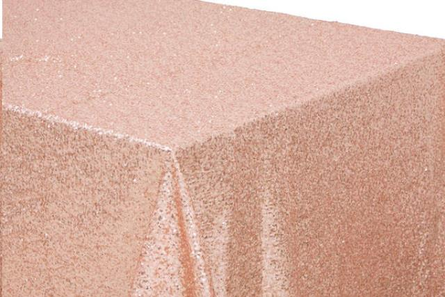 Where to find LINEN, 90 X156 , GLITZ SEQUIN BLUSH in Plattsburgh
