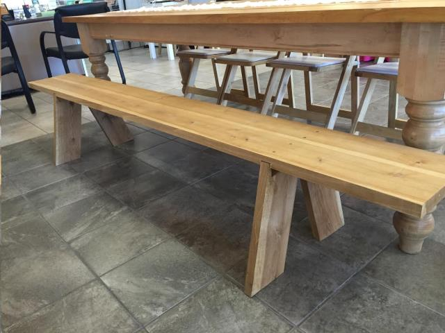 Where to find Farm Bench, Wood 8 in Plattsburgh