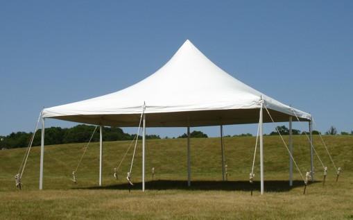 Where to find Tent, 20x20 Pole, Aztec, White in Plattsburgh