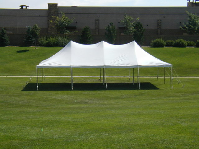 Where to find Tent, 20x40 3CP Pole, Aztec, White in Plattsburgh