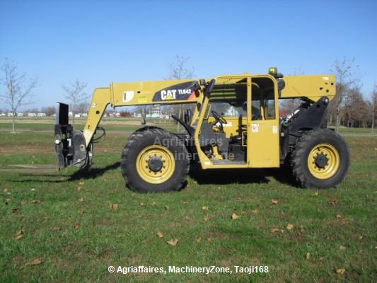 Where to find Telehandler, Cat TL642 cab 6KLB 42 in Plattsburgh