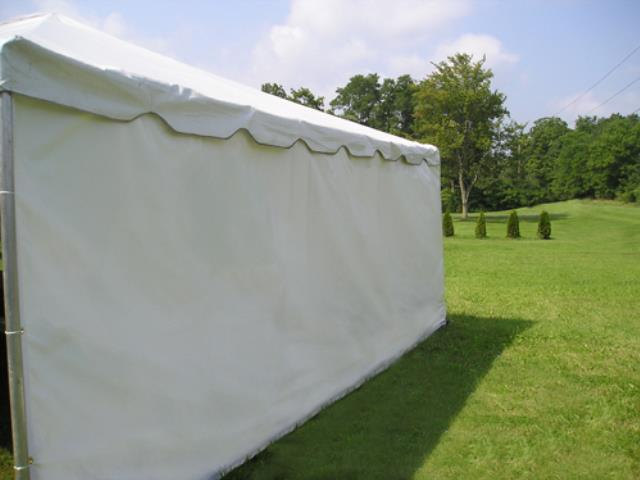 Where to find Tent Sidewall, 7 x30  Solid White in Plattsburgh
