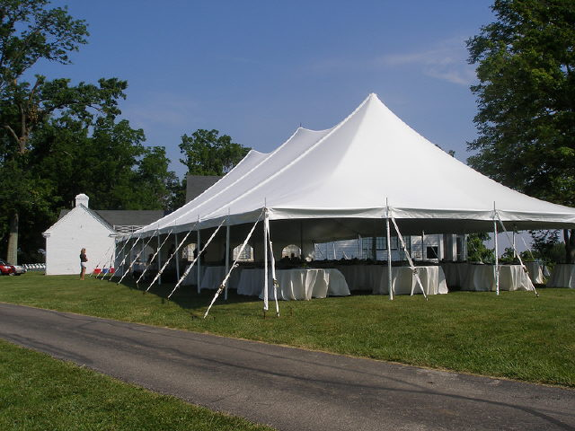 Where to find Tent, 40x80 Pole, Aztec, White in Plattsburgh