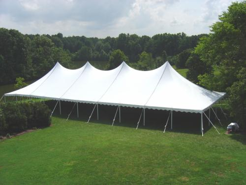 Where to find Tent, 40x100 Pole, Aztec, White in Plattsburgh