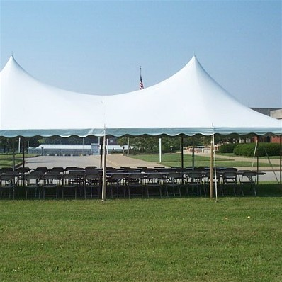 Where to find Tent, 20x40 2CP, Circus Top, White in Plattsburgh