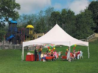Tent 20x20 Frame Eureka White Rentals Plattsburgh Ny