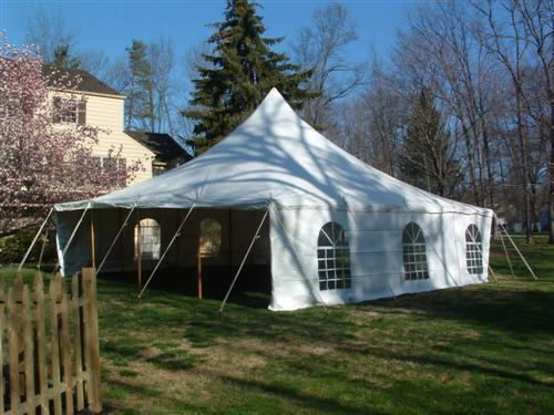 Where to find Tent, 30x30 Pole, Aztec, White in Plattsburgh