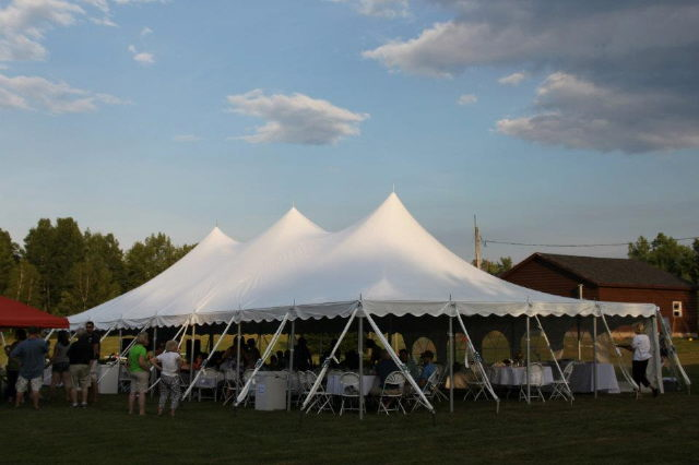 Where to find Tent, 30x60 Pole, Aztec, White in Plattsburgh