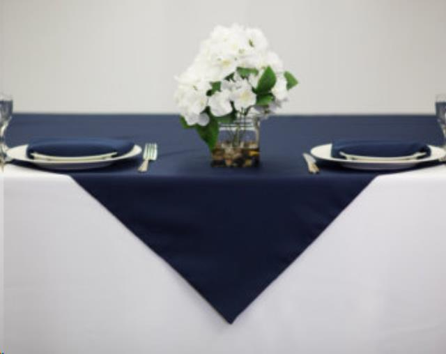 Where to find LINEN, 54 X54 , NAVY in Plattsburgh