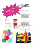 Rental store for Birthday Party in a Box in Plattsburgh NY