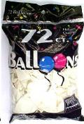 Rental store for BALLOONS 72CT WHITE in Plattsburgh NY