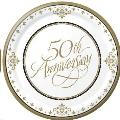 Rental store for Plate, 7 , 50th Anniv. Gold in Plattsburgh NY