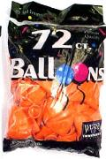 Rental store for BALLOONS 72CT ORANGE in Plattsburgh NY