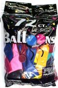 Rental store for BALLOONS 72CT ASSORTED COLORS in Plattsburgh NY