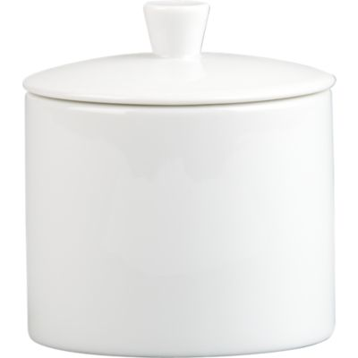 Where to find Dish, Sugar Bowl w  Lid, White in Plattsburgh