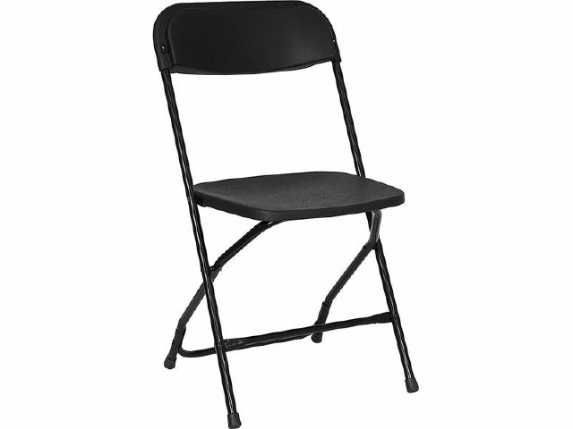 Where to find CHAIR, FOLDING BLACK in Plattsburgh