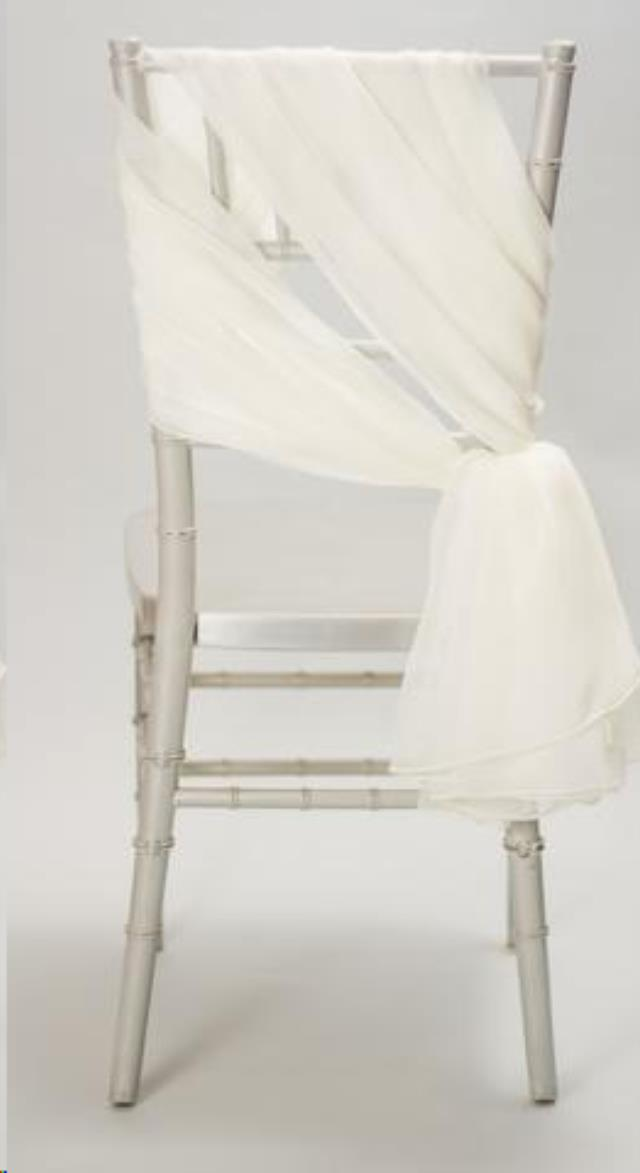 Where to find LINEN, CHAIR TIE, WHITE, 6 X105 in Plattsburgh