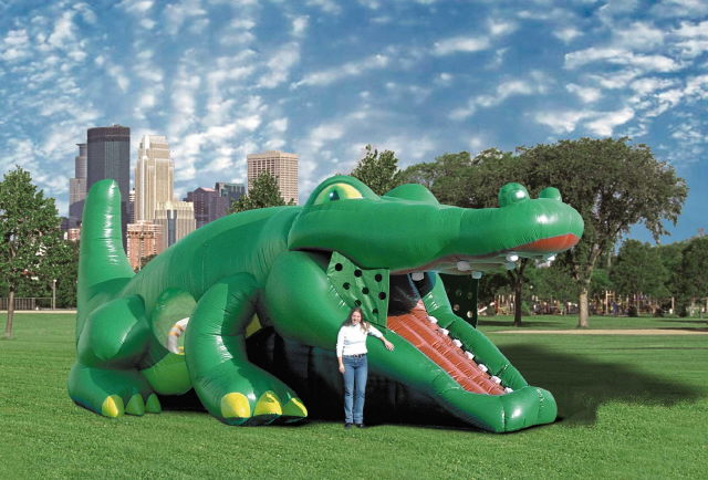 Where to find Bounce, Gator Hide   Slide in Plattsburgh