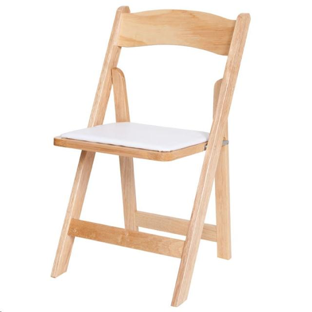 Where to find CHAIR, NATURAL WOOD FOLDING in Plattsburgh