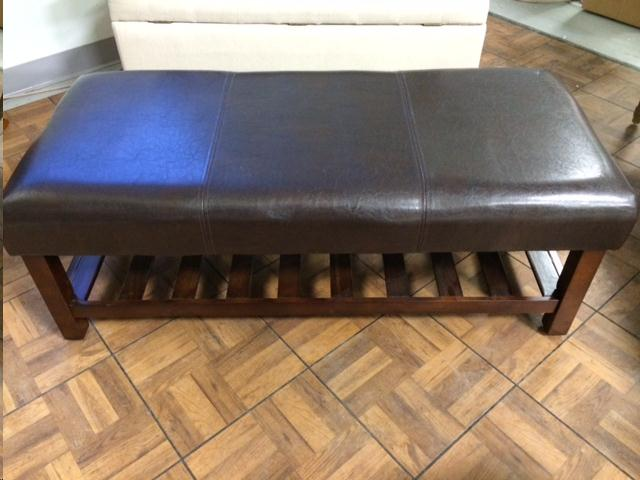 Where to find Leather Coffee Table Ottoman in Plattsburgh