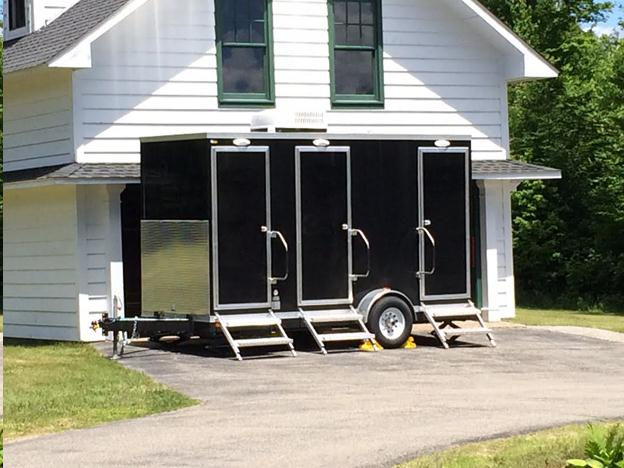 Portable restroom rentals in the Plattsburgh and Saranac Lake New York areas