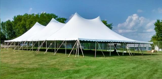 Where to find Tent, 60x110 Pole, Aztec, White in Plattsburgh