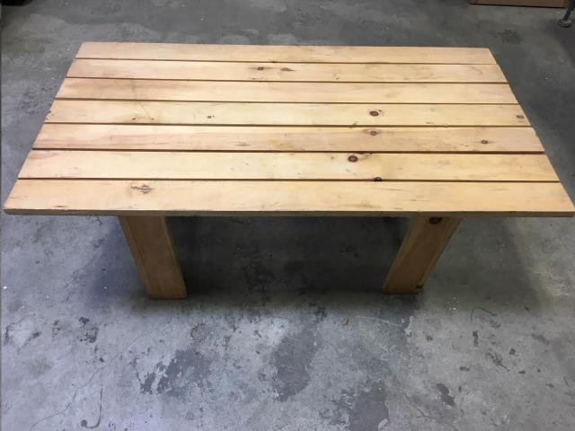 Where to find Adirondack Style Coffee Side Table, Wood in Plattsburgh
