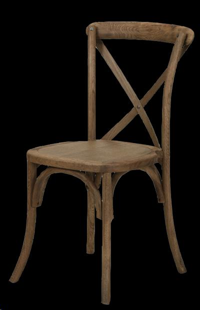 Where to find Chair, Cross Back Natural Wood in Plattsburgh
